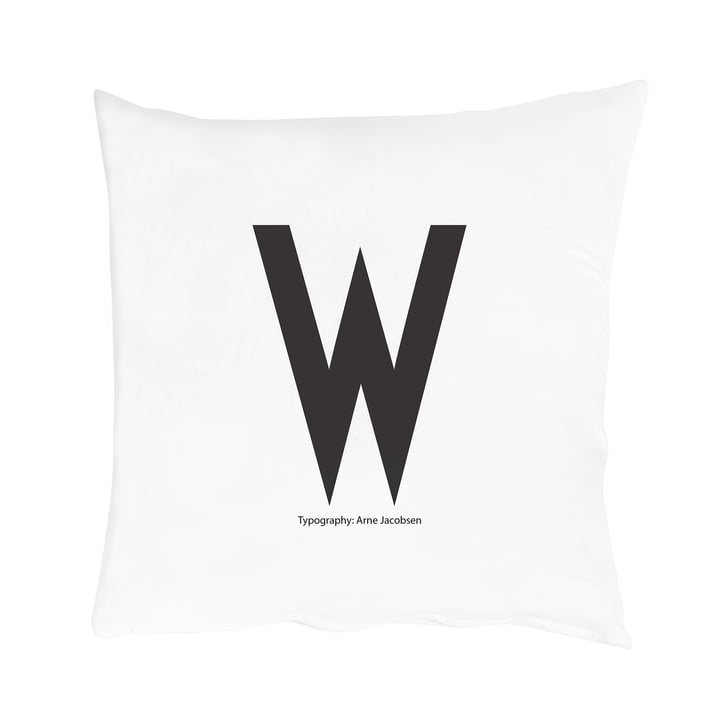 Design Letters - Kissenbezug von A-Z, W