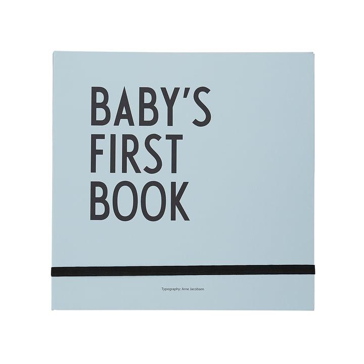 Baby's First Book von Design Letters in blau