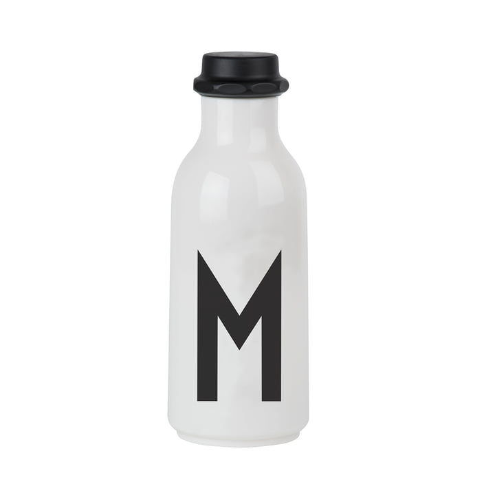 Design Letters - Wasserflasche von A-Z, M