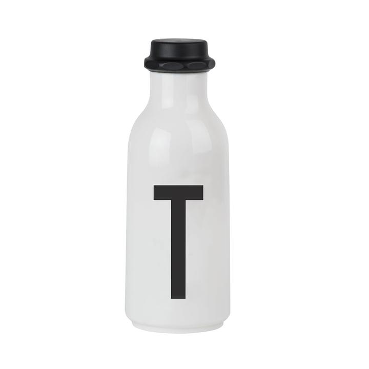 Design Letters - Wasserflasche von A-Z, T