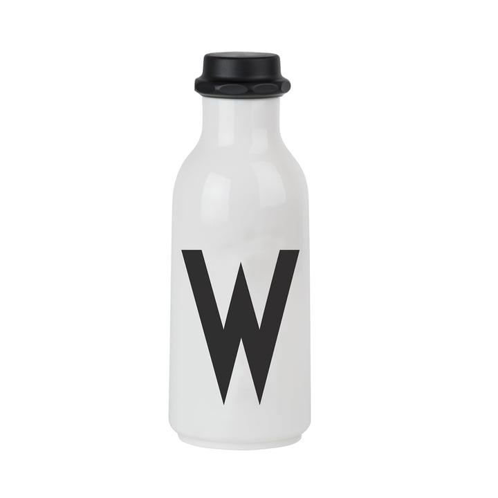 Design Letters - Wasserflasche von A-Z, W
