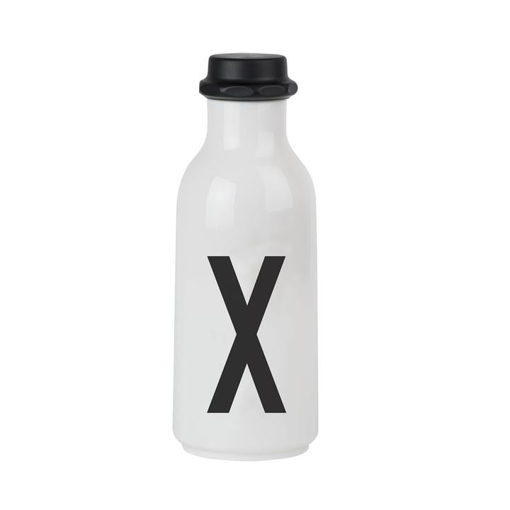 Design Letters - Wasserflasche von A-Z, X