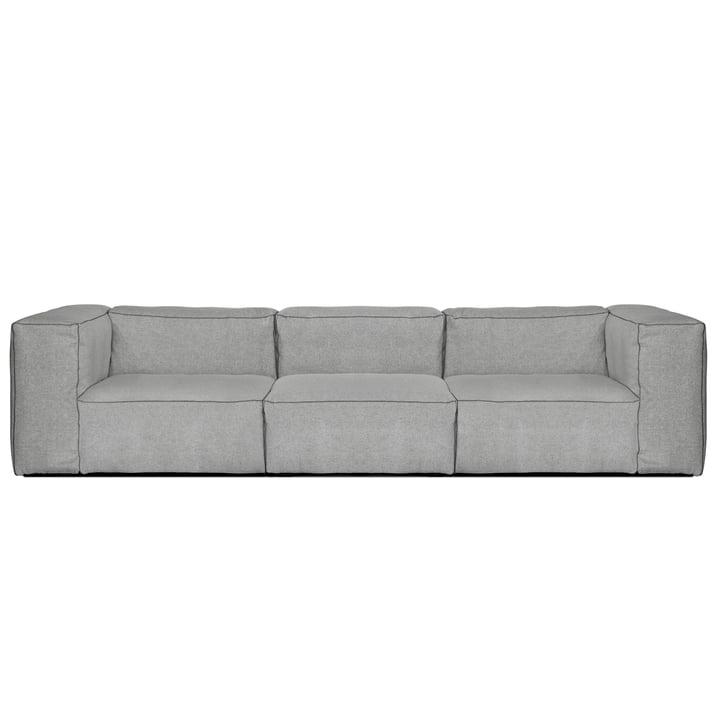 Mags Soft Sofa 3-Sitzer, Hallingdal 130 hellgrau von Hay