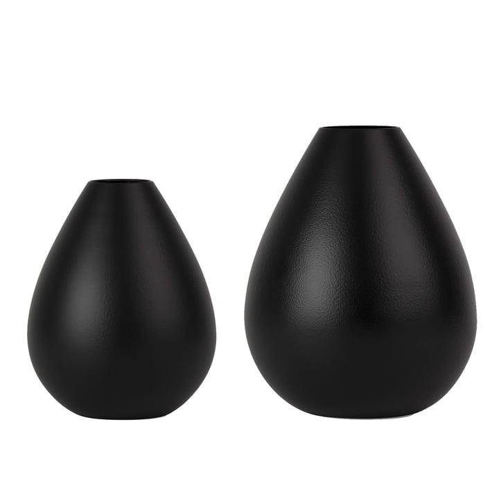 Royal Vase von Design Letters in Schwarz