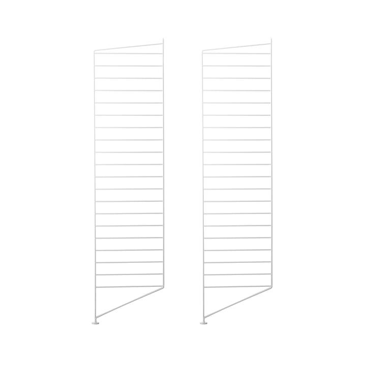 Bodenleiter 115 x 30 cm (2er-Set) von String in Weiß