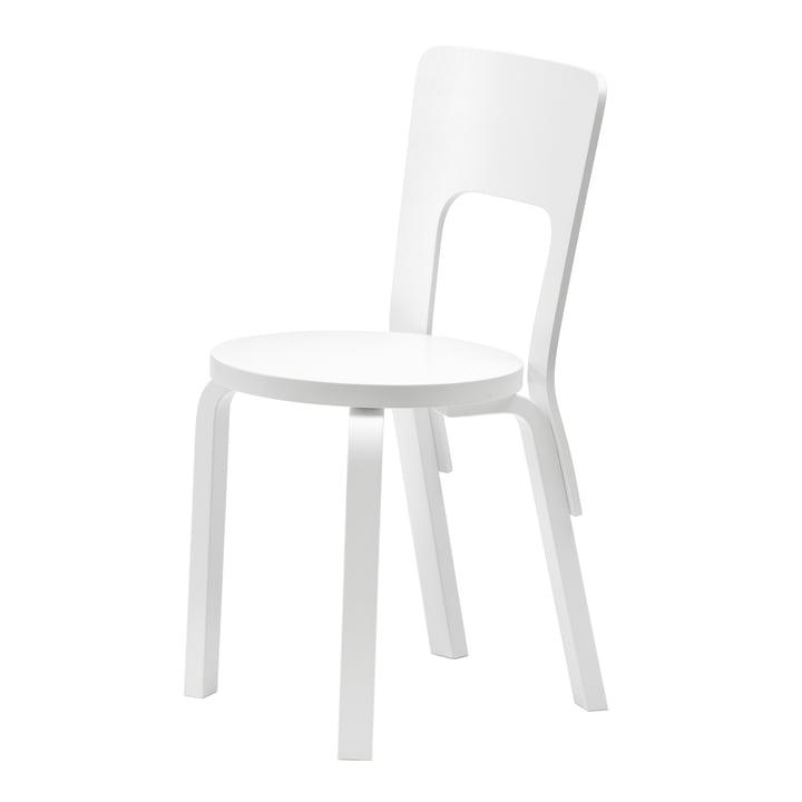 Artek - Stuhl 66, weiß