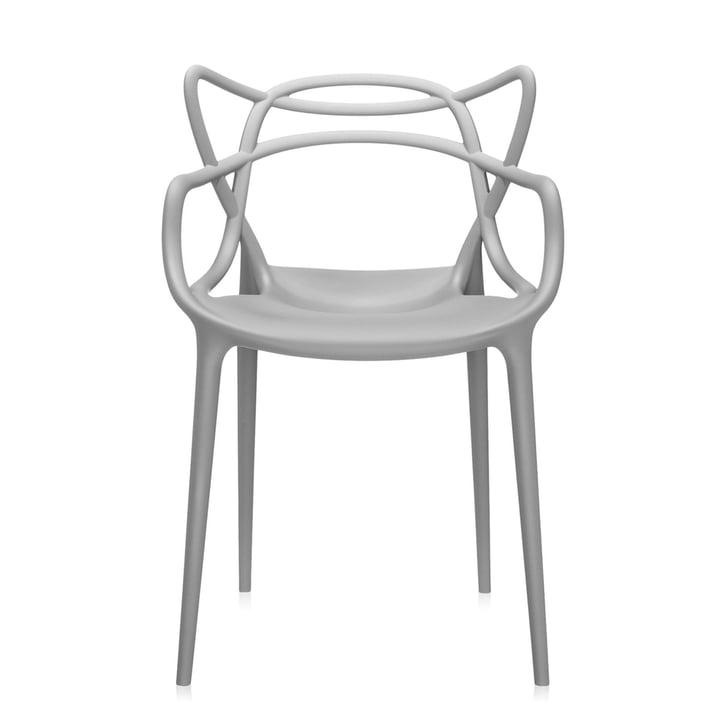 Masters Stuhl von Kartell in grau