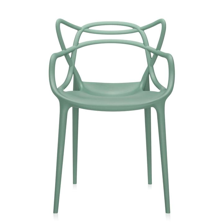 Masters Stuhl von Kartell in grün