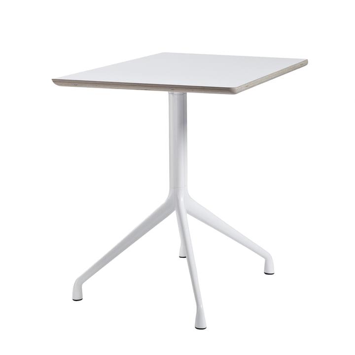 Hay - About A Table AAT 15 Bistrotisch 80 x 80 cm H73 cm, weiß