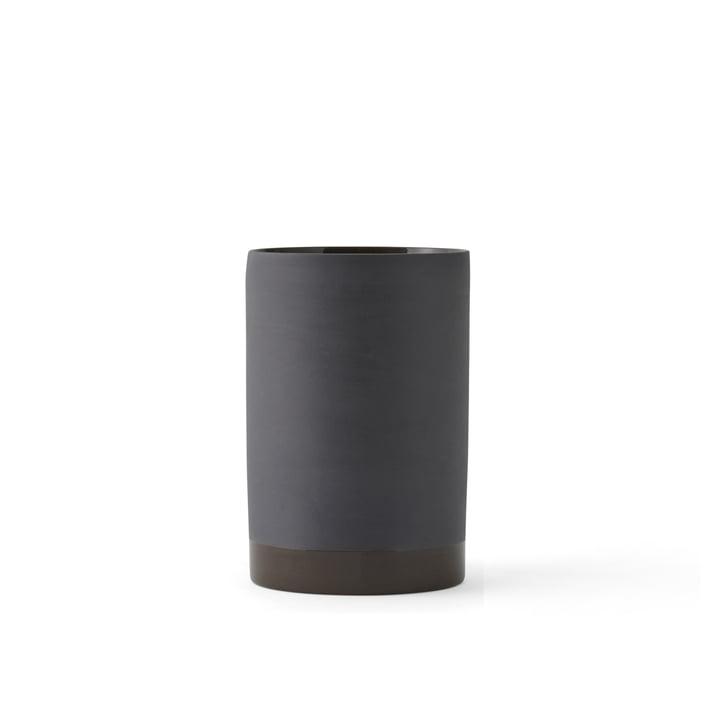Die Cylindrical Vase S von Manu in carbon