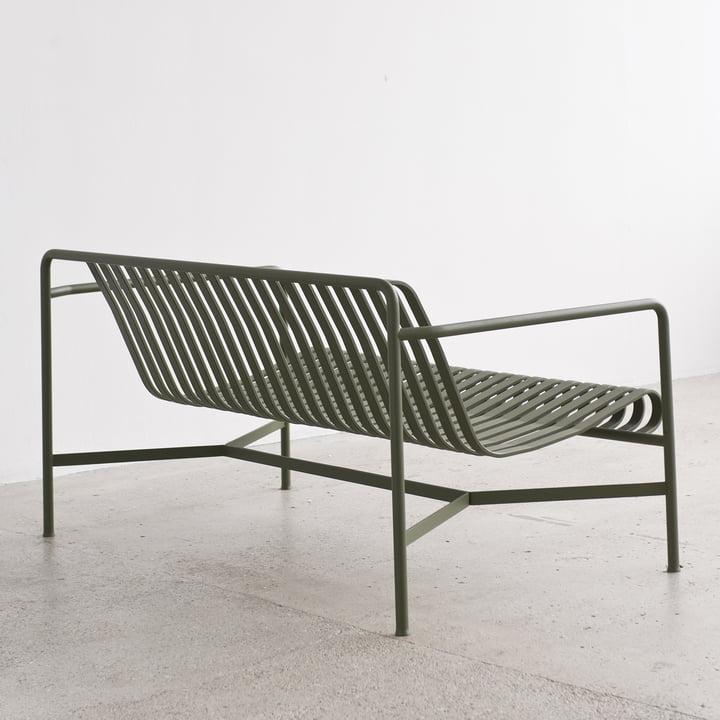 Das Palissade Lounge Sofa von Hay in anthrazit