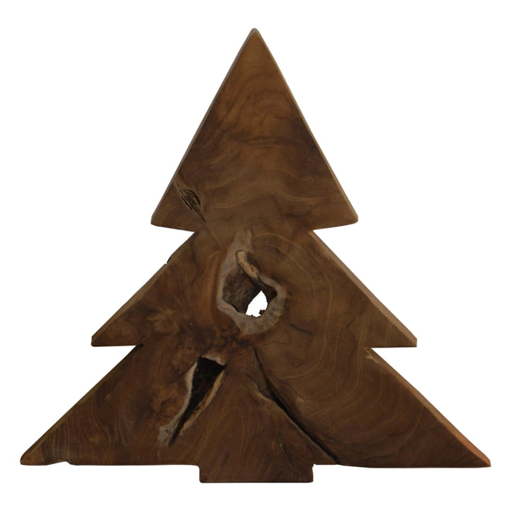 Jan Kurtz - Weihnachtsbaum L, Teakholz massiv