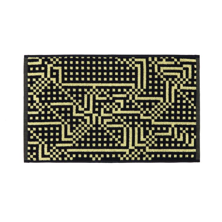 Route Black and Yellow Gästetuch 33 × 50 cm von Zuzunaga