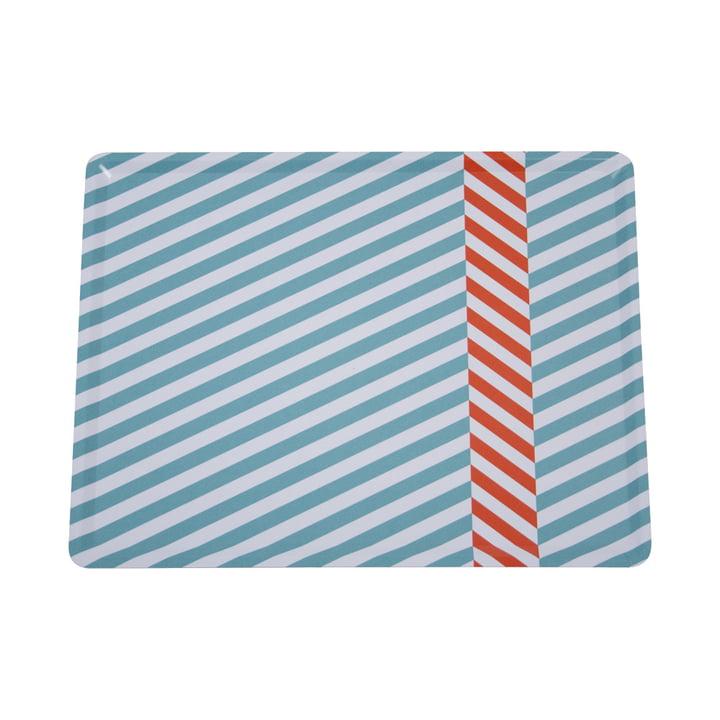 Das Tablett Cabourg in lagunenblau von Fermob