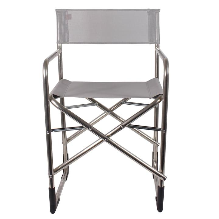 Fiam - Regie Aluminium Sessel, grau