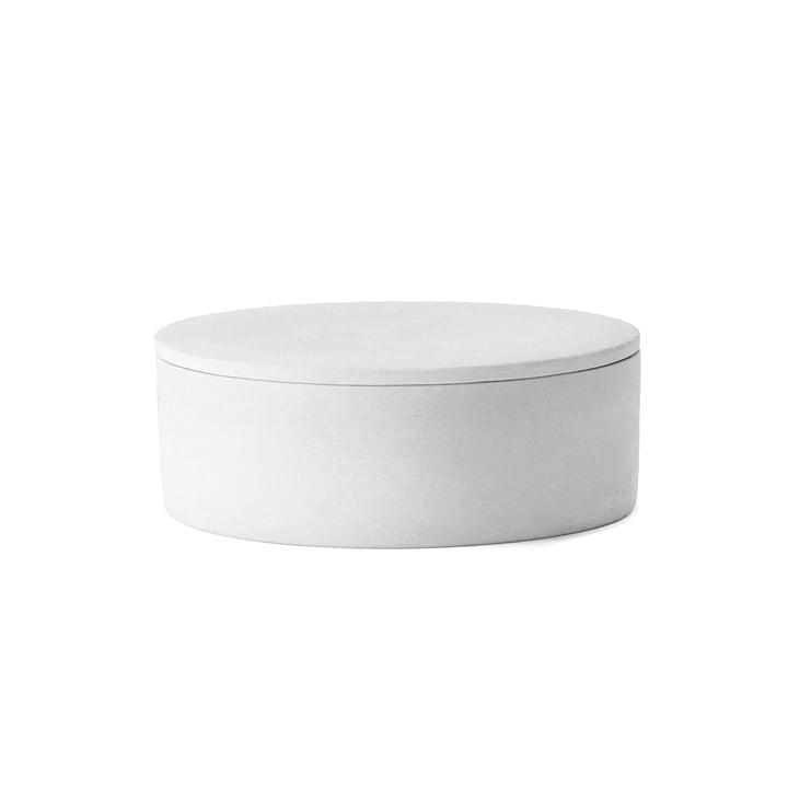 Der Cylindrical Container mit Deckel von Menu in weiß
