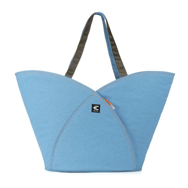 Pua Kopu Strandtasche von Terra Nation in Blau