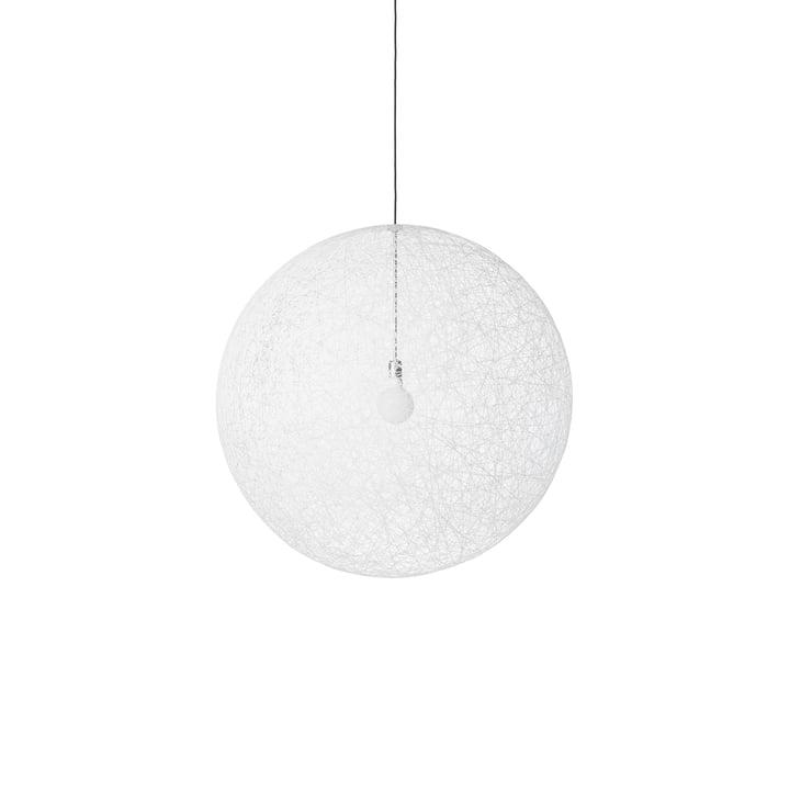 Random Light LED Pendelleuchte, small weiß von Moooi