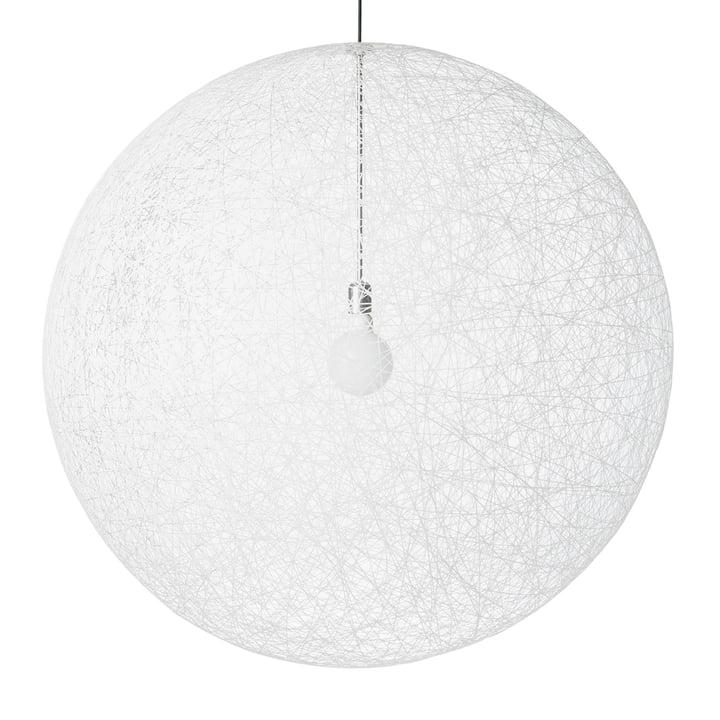 Random Light LED Pendelleuchte, large, weiß von Moooi