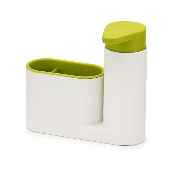 2-teiliges SinkBase Spülbecken-Reinigungs-Set von Joseph Joseph in Weiß und Grün