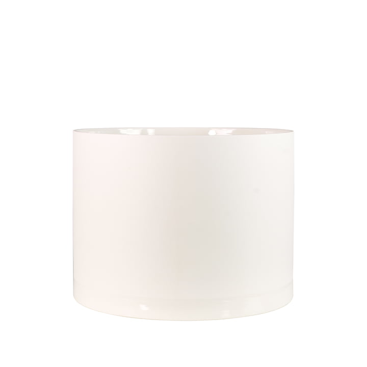 Menu - Cylindrical Planter S, weiß