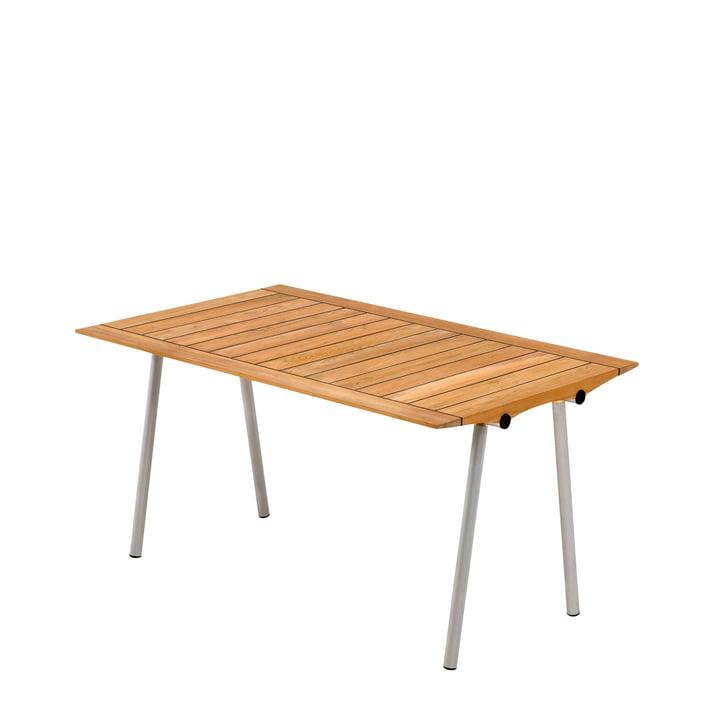 Skagerak - Ocean Tisch 142 cm, Teakholz mit Gummifugen