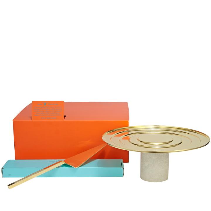 Form Tortenheber mit Tortenständer von Tom Dixon