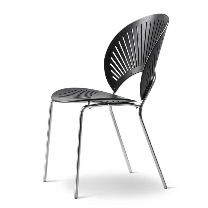 Trinidad Stuhl von Fredericia in Schwarz