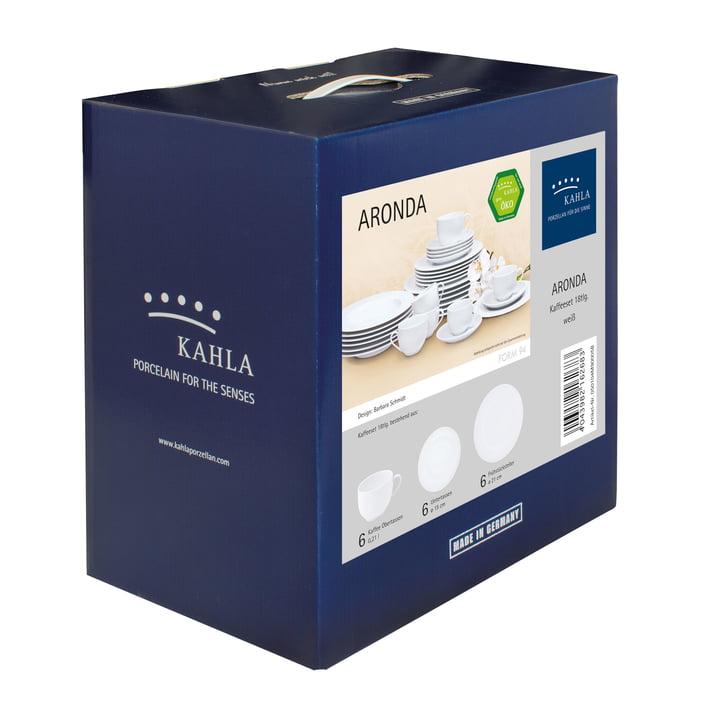 Aronda Kaffee-Set 18tlg. von Kahla