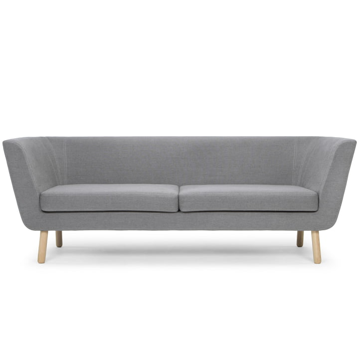 Nest Sofa von Design House Stockholm in Hellgrau