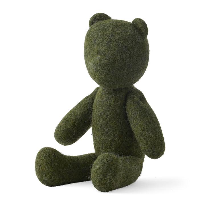 Der Teddy aus den Menu - Nepal Projects in dunkelgrün