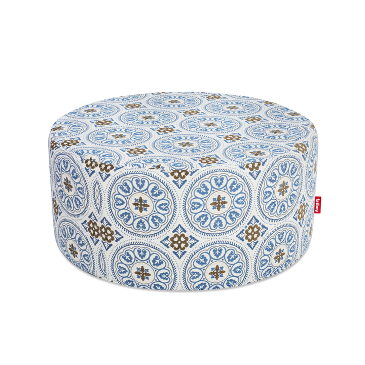 Pfffh Outdoor Pouf von Fatboy in Blau