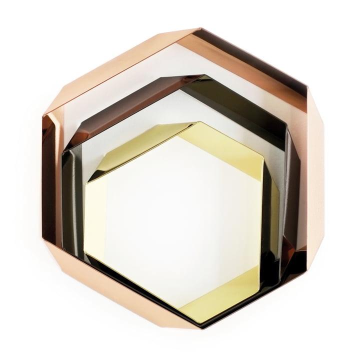 Hexagon Untersetzter in drei Größen