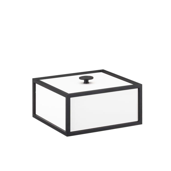 Frame Box 14 von by Lassen in Weiß