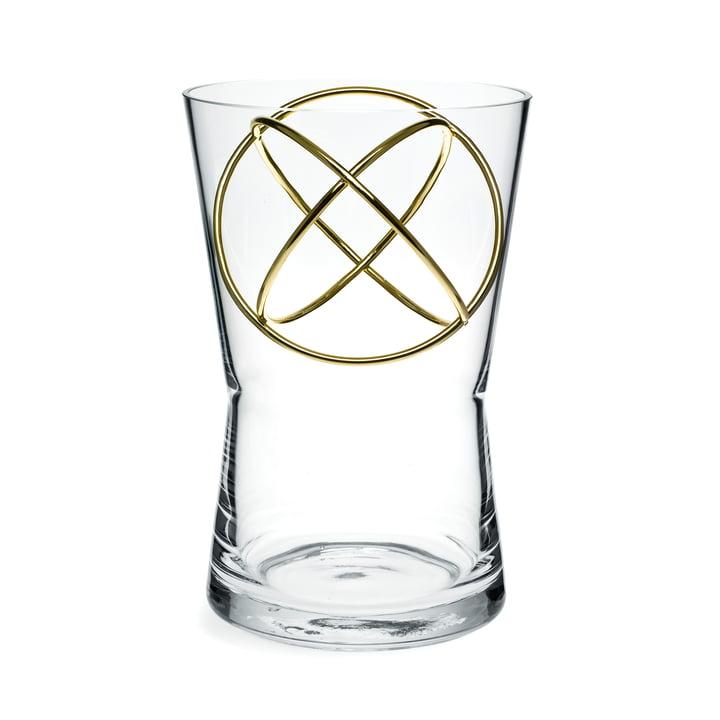 Sphere Vase Medium von Born in Sweden in Gold