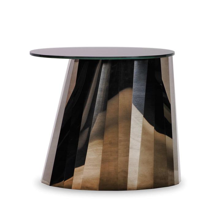 ClassiCon - Pli Side Table, pyrite bronze glänzend