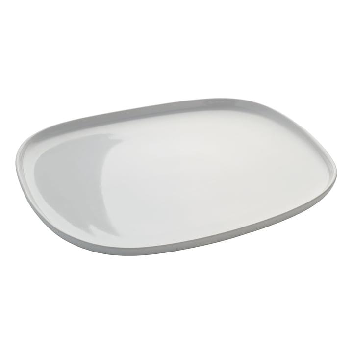 Ovale Platte von Alessi in rechteckig