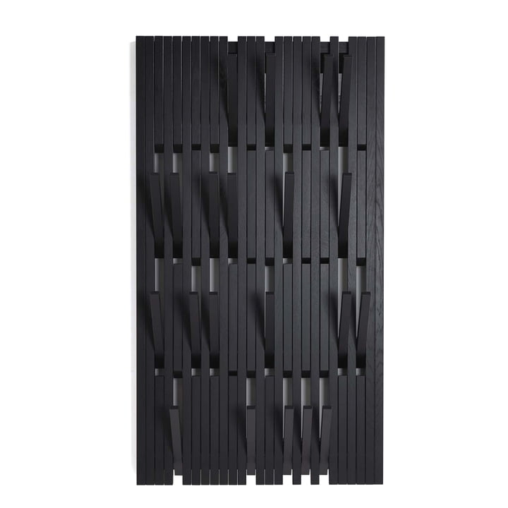 Peruse - Piano Hanger Eiche schwarz lackiert (RAL 9005), large