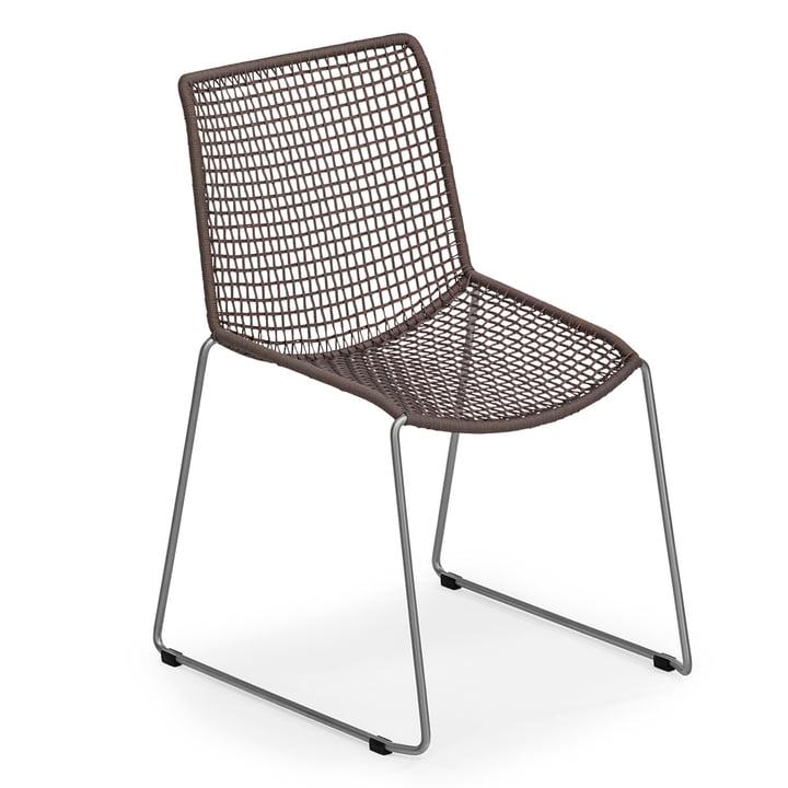 Slope Stuhl von Weishäupl in Taupe