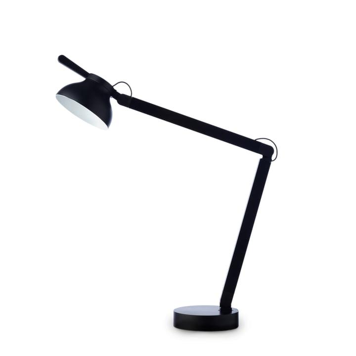 Die PC Tischleuchte von Hay in schwarz
