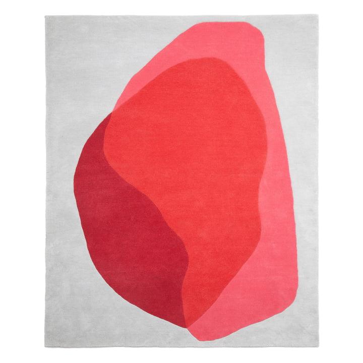 Jane Teppich von Hartô in Rot und Pink Cameo