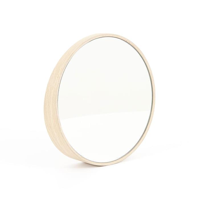 Odilon Spiegel 40 cm von Hartô in Eiche Natur