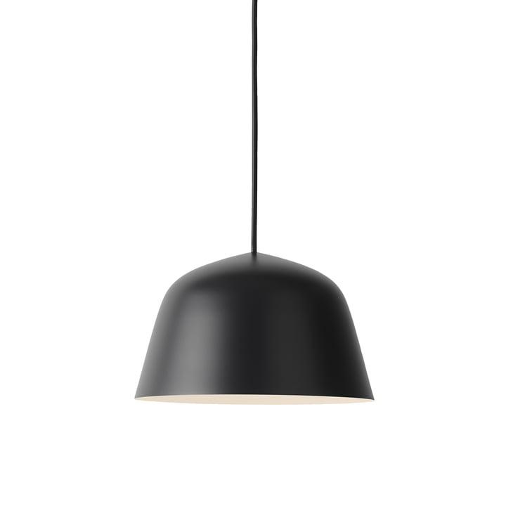 Die Ambit Pendelleuchte Ø 25 cm in schwarz von Muuto