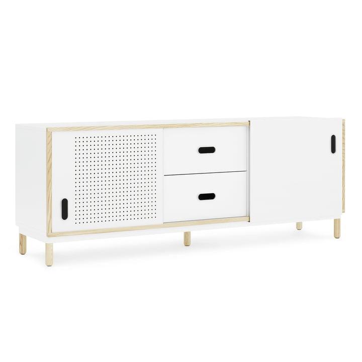 Kabino Sideboard mit Schubladen von Normann Copenhagen in Weiß