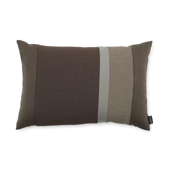 Line Cushion von Normann Copenhagen in der Größe 40 x 60 cm in braun
