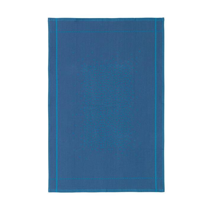 Illusion Geschirrtuch von Normann Copenhagen in blau