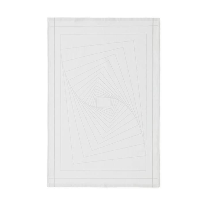 Normann Copenhagen - Illusion Geschirrtuch, weiß