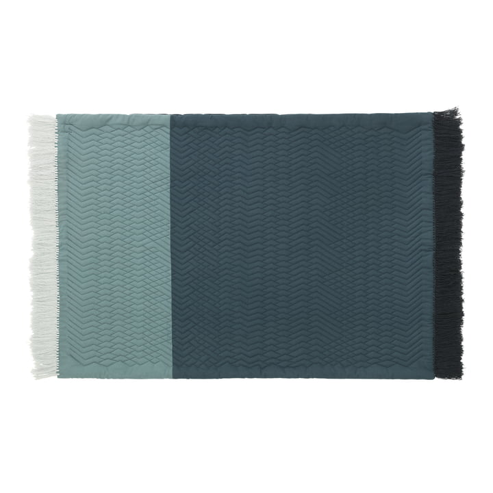 Normann Copenhagen - Trace Teppich, blau