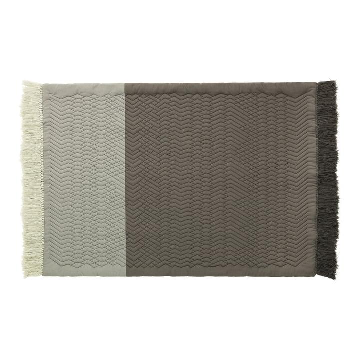 Trace Teppich von Normann Copenhagen in grau