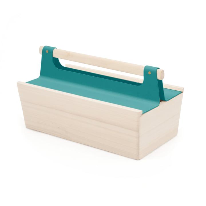 Louisette Tool Box von Hartô in Wasserblau (RAL 5021)